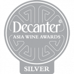 Silver Medal, 92 points, vintage 2.014, Decanter Asia Wine Awards 2018