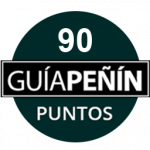 90 points, vintage 2015. Guía Peñín 2018. Spain.