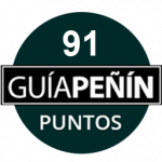 91 Points, vintage 2.010, Guía Peñin 2.013, Spain