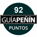 92 points, vintage 2012. Guía Peñín 2018, Spain