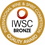 Medalla de Bronce, añada 2.013, International Wine Competition 2.016, Alemania