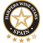 4/5 Stars, vintage 2.014, Harpers Wine Stars Spain 2.019, UK